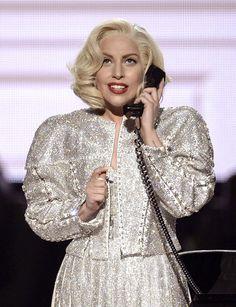 Lady Gaga vitage Moda vintage em costura
