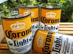 Hey, I found this really awesome Etsy listing at http://www.etsy.com/listing/118237156/corona-light-beer-glasses-set-of-four-4
