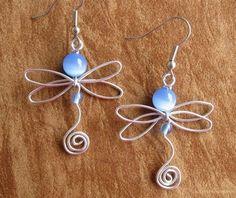 dragonfly by Jersica #wirejewelry