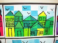 monotone and value color mixing. Paul Klee Artwork, 3rd Grade Art, Math Art, Art N Craft, Art Lessons Elementary, Painting Lessons, Art Lesson Plans, Art Classroom, Art Plastique