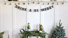 DIY Greenery Table Garland - The Merrythought How To Make Garland, Table Garland, Holiday Parties, Holiday Decor, Seeded Eucalyptus, Local Florist, Greenery, Wedding Decorations, Merry