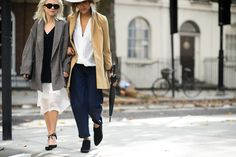 London Fashion Week Spring 2015 Day 3 - The Best of London Fashion Week Spring 2015 Street Style in Photos | W Magazine