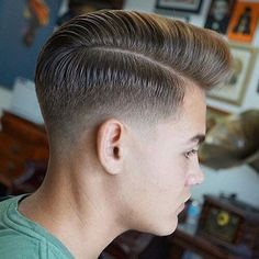 The 30 Different Types of Fades: A Style Guide - Men Hairstyles World Beard Styles For Men, Hair And Beard Styles, Short Hair Styles, Stylish Haircuts, Haircuts For Men, Men Hairstyles, Types Of Fades, Drop Fade Haircut, High And Tight Haircut