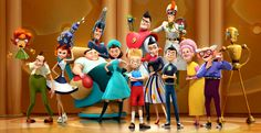 An Underrated Movie - Meet the Robinsons, this movie was freakin' brilliant, but you don't hear a lot about it.