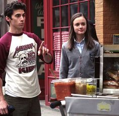 "Getting ""hot dogs with everything"" with Jess after skipping school and going to NYC to see him...and insisting she was like a ""native"". Didn't make it back to Lorelai's graduation from business school!"