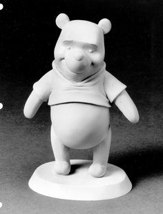 Pooh maquette by Chuck Williams2009, via Flickr