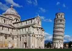 Leaning Tower of Pisa - Italy http://ow.ly/o4bOZ