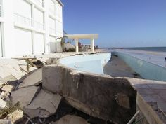 Hurricaine Wilma Aug 2005 Puerto Morelos Yucatan Photos - Wilma made several landfalls, with the most destructive effects felt in the Yucatán Peninsula of Mexico,