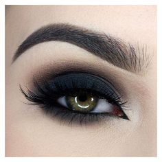 35 Great Grunge Make-up Ideas ❤ liked on Polyvore featuring beauty products, makeup, eye makeup, eyes, beauty and too faced cosmetics