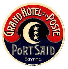 Grand Hotel de la Poste, Port Said Autor/a pineado: Brimstone Dreams ...... Álbum pineado: Travelling to Egypt ....... http://www.pinterest.com/brimstonedreams/travelling-to-egypt/?utm_campaign=recs_141229&utm_term=6&utm_content=196258564950584312&e_t=d6cb4851402e45048e24ca9ef13e533d&utm_source=31&e_t_s=boards&utm_medium=2004