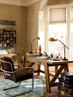 Do your best work at home. #potterybarn