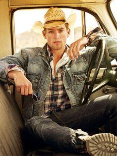 cowboy style, blue j