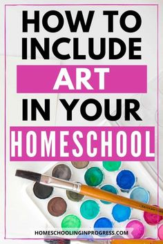 Enrichment subjects like art often get pushed aside when homeschool families are short on time. Learn how to easily include art in your homeschool day. Kindergarten Homeschool Curriculum, Kindergarten Art Lessons, Art Curriculum, Homeschooling, Calming Activities, Free Printable Art, Teaching Art, Learn Art, The Help