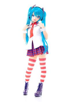 "YUAN on Twitter: ""Vocaloid 初音ミク(Miku Hatsune) Greatest Idol  初めての音を奏でます。よろしくお願い申し上げます!… "" Anime Couples Manga, Cute Anime Couples, Angel Beats, Erza Scarlet, Anime Dolls, Living Dolls, Anime Costumes, Manga Illustration, Hatsune Miku"