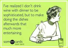 why drink wine with dinner? Here's a good reason :-)