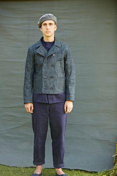 Short DB Jacket - Old Town Clothing - classic British workwear - Holt, Norfolk, England