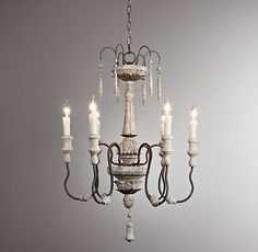 Emile Chandelier - Restoration Hardware Baby and Child has great prices on chandeliers