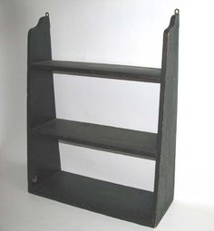 Simple hanging shelves