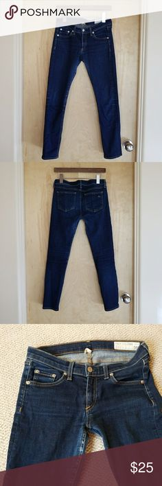 Rag & Bone Capri Jeans Re-posh. In good used condition. Will look great with boots or booties this winter! rag & bone Jeans Ankle & Cropped