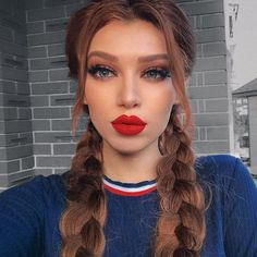 grafika girl, makeup, and hair