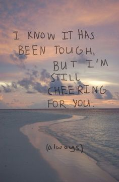 I refuse to give up on you! Our friendship means the world to me and I'll only be a call away!
