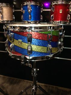 A gorgeous Ludwig snare from this year's NAMM festival!
