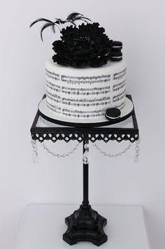 black beauty cake- Stunning...I will take this for my birthday cake