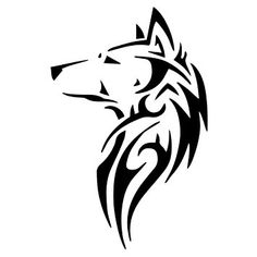Image result for wolf silhouette