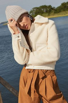 UO Shearling Gab Jacket | Urban Outfitters
