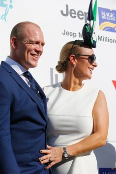 Mike Tindall Photos - Zara Phillips and Mike Tindall at Magic Millions Raceday on January 2017 in Gold Coast, Australia. - Magic Millions Raceday Coast Australia, Western Australia, South Australia, Magic Millions, Mike Tindall, Zara Phillips, January 14, Pictures Of The Week, Royal Ascot
