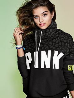 Shop Women's PINK Victoria's Secret Black size S Jackets & Coats at a discounted price at Poshmark. Description: New in bag. Sold out everywhere . Really pretty black leopard print cowl neck pullover. Sold by Fast delivery, full service customer support. Pink Phone Cases, Pink Leopard Print, Pretty Black, Vs Pink, Pink Black, Cowl Neck, Victoria Secret Pink, Pink Ladies, Cool Outfits