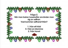 Mariaslekrum - Illustrerade frågeslingor. Educational Activities For Kids, Teaching Materials, Mandala Art, App Design, Crafts For Kids, Preschool, Christmas Ornaments, Inspiration, Xmas
