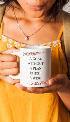 Planner Coffee Mug | 2018 Weekly Daily Planning | Great Gift for Organized People - American Made - 11oz 15oz
