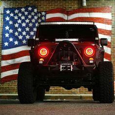 @kirowrangler feeling all sorts of #merica! www.instajeepthing.com #jeep…