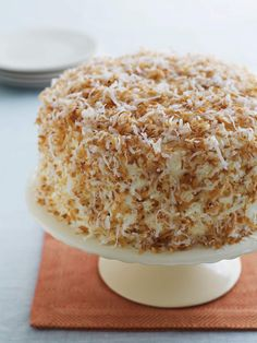 Recipe: Terrific Triple Coconut Cake