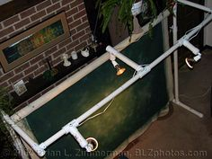 Studio Lighting - Home Made DIY Backdrop Stand - http://www.diyphotography.net/homestudio/blz/home-made-cheap-diy-backdrop-stand#