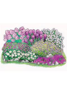 Purppurailta perennapenkki - Viherpeukalot.fi Garden Planning, Home And Garden, Make It Yourself, How To Make, Dreams, Happy, House, Happy Happy Happy, Horticulture
