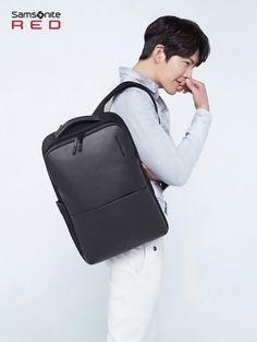 Kim Woo Bin's backpack 'Samsonite Red' breaks records in sales | allkpop.com