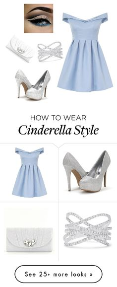 """Modern Cinderella (it's all about the sparkle)"" by sarah2nova on Polyvore featuring Chi Chi, Effy Jewelry, Kate Landry and modern"