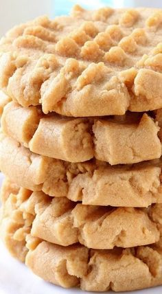 Easy Old Fashioned Peanut Butter Cookies - YUM!