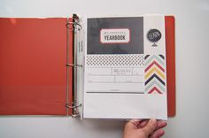 project life personal year book