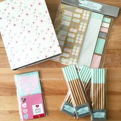 Planner goodies at the Target dollar spot!