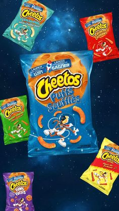 TRY these cheesy, out of this world snacks today!