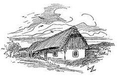 Mikoláš Aleš :: Město Mirotice Fantasy House, National Theatre, Art Nouveau, Snoopy, Illustration, Fictional Characters, Prague, Czech Republic, Painters