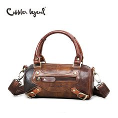 0ef15a569bc US  39.00   Cobbler Legend Famous Designer Brand Women s Handbags Genuine Leather  Vintage Woman Luxury Cowhide
