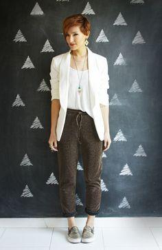 Look do dia: calça de lurex - Blog De repente Tamy Blog De repente Tamy