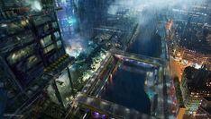これが未来の世界? スタイリッシュなSF風コンセプト・アート 2