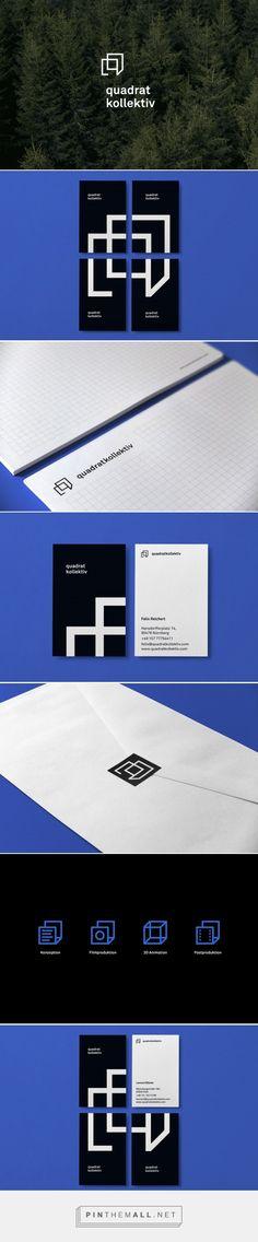Quadratkollektiv Film Production Studio Branding by Muskat Design | Fivestar Branding Agency – Design and Branding Agency & Curated Inspiration Gallery