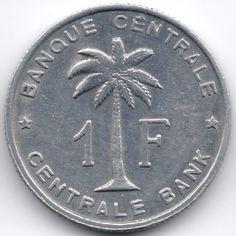 Belgian Congo + Ruandi Urundi 1 Franc 1958 Veiling in de Rwanda-Burundi,Afrika,Munten,Munten & Banknota's Categorie op eBid België