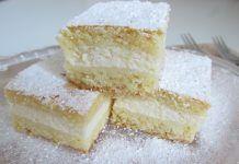 Plăcinta cu iaurt și lămâie , rapid de facut gata in 25 de minute